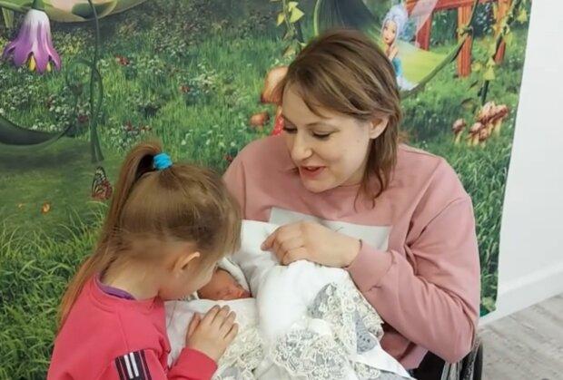 Kadrija und ihre Kinder. Quelle: Screenshot Youtube