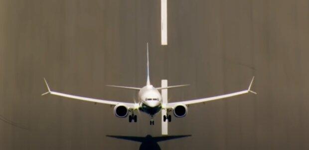 Ein Flugzeug. Quelle: Screenshot YouTube