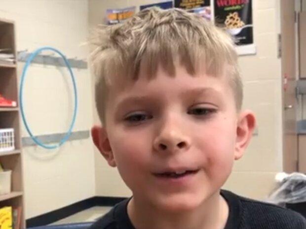 Der tapfere Junge konnte mit Hilfe seines Lehrers seinen Vater retten