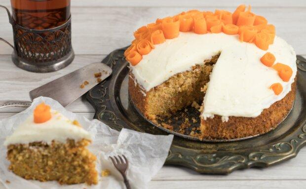 """""""Gesundes Dessert"""": ein leichtes Rezept für Karottenkuchen"""