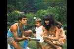 Adriano Celentano, Claudia Mori und ihre Tochter. Quelle: Screenshot Youtube