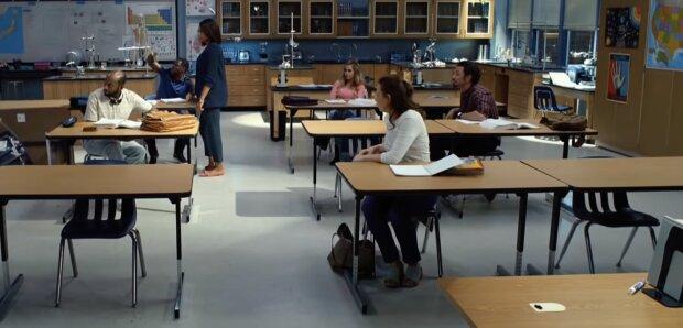 In der Schule. Quelle: Screenshot YouTube