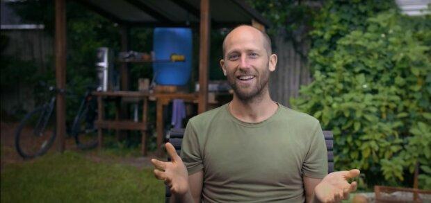 Ein Jahr lang hat Rob Greenfield nur gegessen, was er selbst gepflanzt und geerntet hat