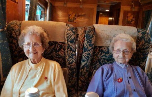 95 Jahre zusammen: Die Zwillinge aus Großbritannien erzählten von ihrem Geheimnis der Langlebigkeit