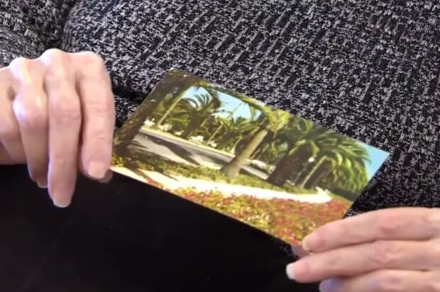 Postkarte. Quelle: Screenshot Youtube