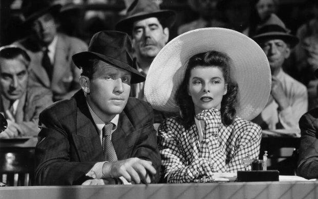 Katharine Hepburn und Spencer Tracy. Quelle: Screenshot Youtube