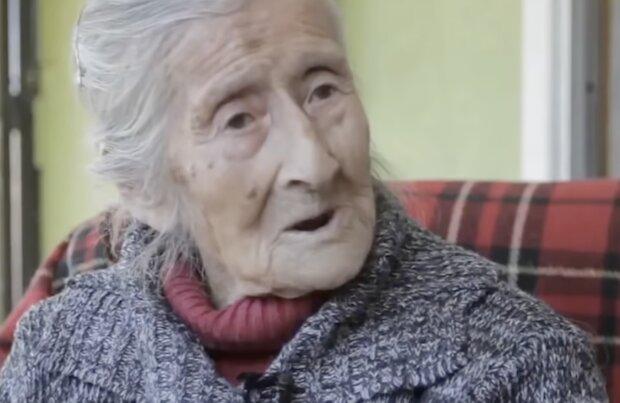 Eine Oma. Quelle: Screenshot YouTube