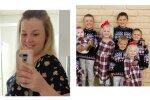 Courtney mit den Kindern. Quelle: Screenshot Youtube