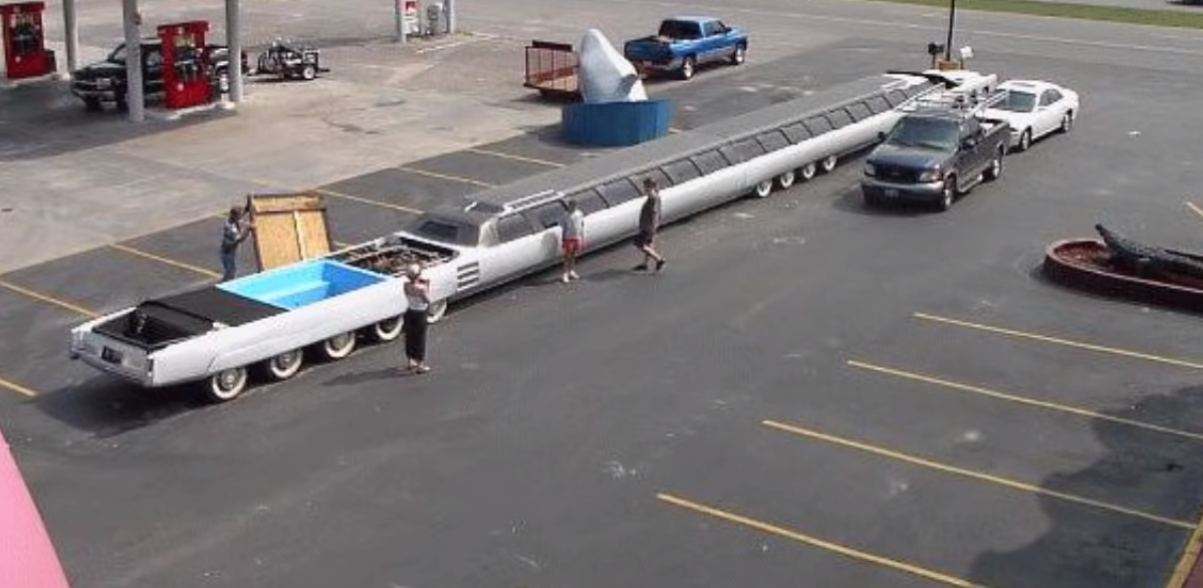 Der amerikanische Traum: So sieht die längste Limousine